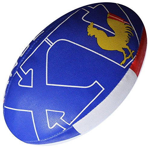 Ballon-de-Rugby-France-Collection-Supporter-Taille-5-Divers-0