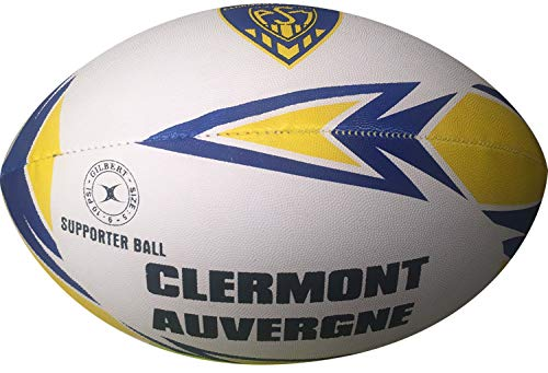 Clermont-Auvergne-Ballon-de-Rugby-Collection-Officielle-Gilbert-Taille-5-0